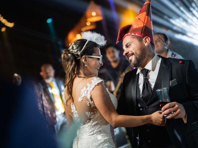 El matrimonio de Felipe y Tamara en El Monte, Talagante 59