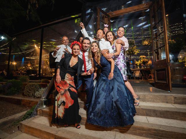 El matrimonio de Felipe y Tamara en El Monte, Talagante 62