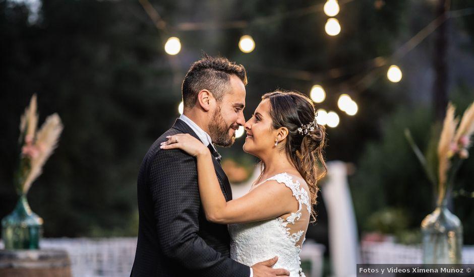 El matrimonio de Felipe y Tamara en El Monte, Talagante