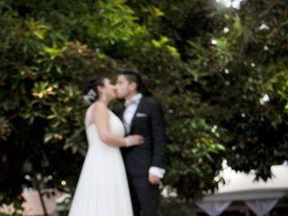 El matrimonio de Andrea y Nicolás 1