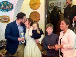 El matrimonio de Marie Claire  y Sebastián