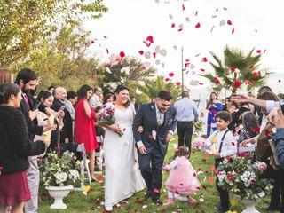 El matrimonio de Isha y Mario 1