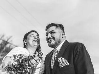 El matrimonio de Isha y Mario