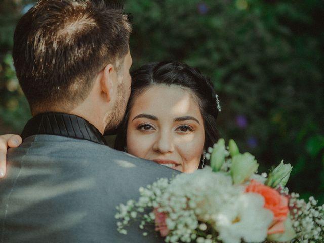El matrimonio de Leslie y Ariel