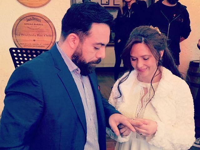 El matrimonio de Sebastián  y Marie Claire  en Ñuñoa, Santiago 1