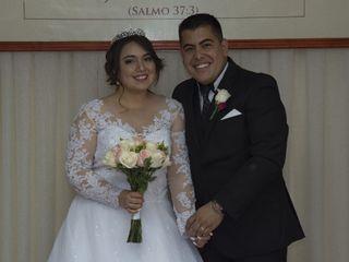 El matrimonio de Dámaris y Felipe