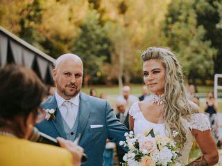 El matrimonio de Caro y Enzo