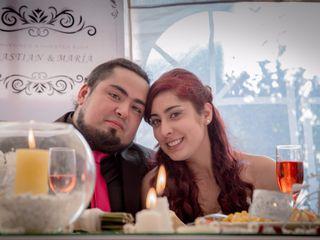 El matrimonio de María y Sebastián