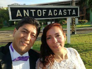 El matrimonio de Claudio  y Maritza