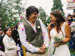 El matrimonio de Daniela y Oliver