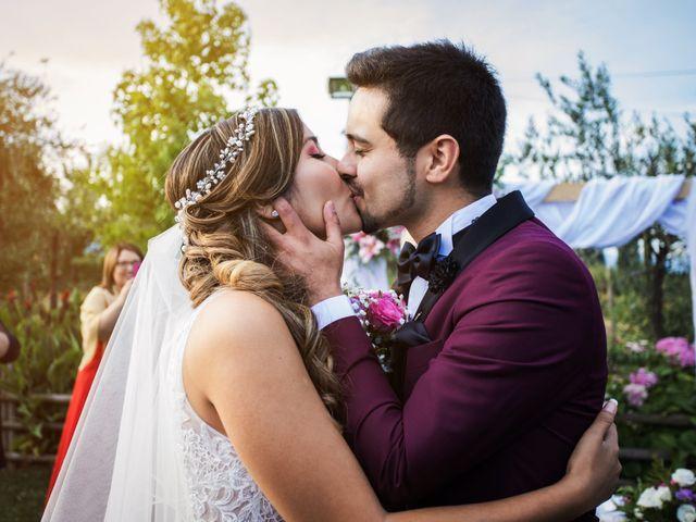 El matrimonio de Melissa y Lucas