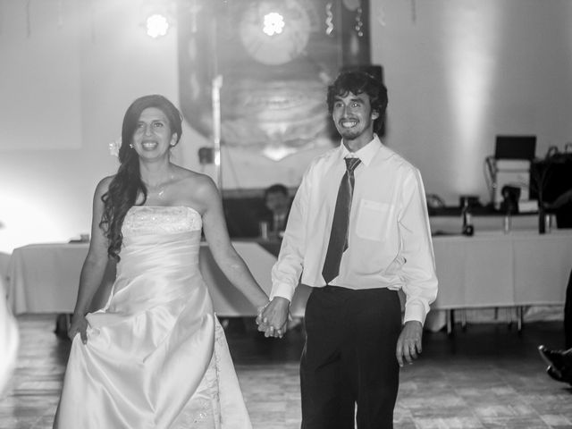 El matrimonio de Angie y Sebastian