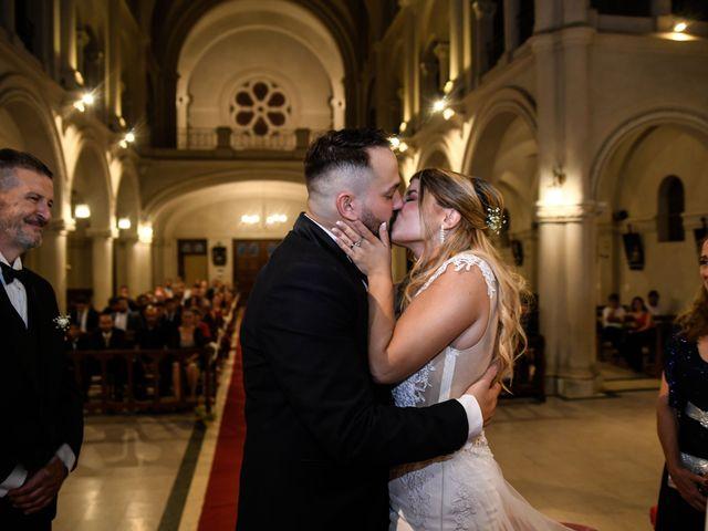El matrimonio de Laura y Franco