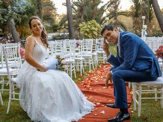 El matrimonio de Eva belmar  y Osvaldo farias  1