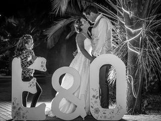 El matrimonio de Eva belmar  y Osvaldo farias  2