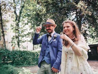 El matrimonio de Maja y Julian