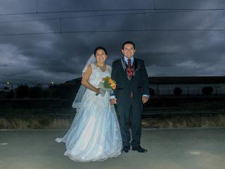 El matrimonio de Valeria y Cristian