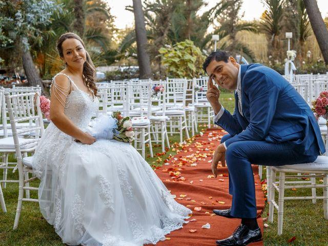 El matrimonio de Eva belmar  y Osvaldo farias