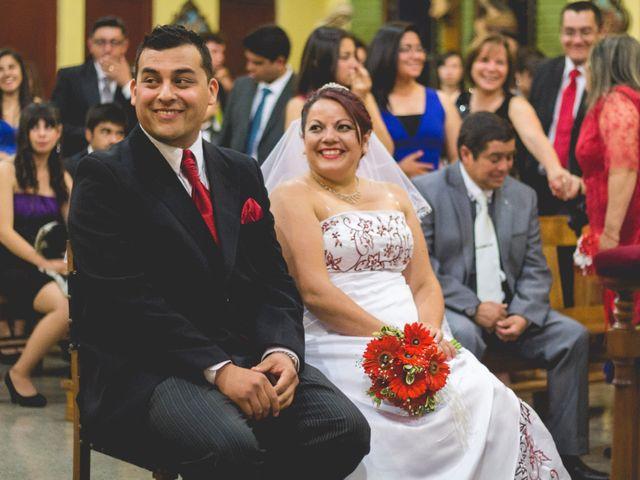 El matrimonio de Makarena y Ricardo