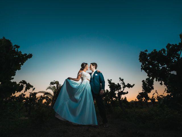 El matrimonio de Barbara y Tomas