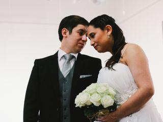 El matrimonio de Ariatna y Rodrigo