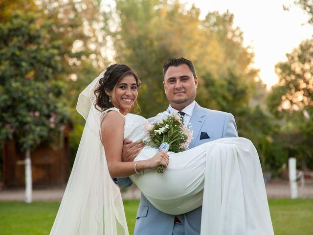 El matrimonio de Romina y Matias