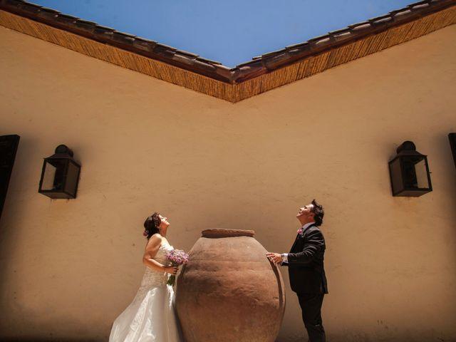 El matrimonio de Victoria y Rodolfo