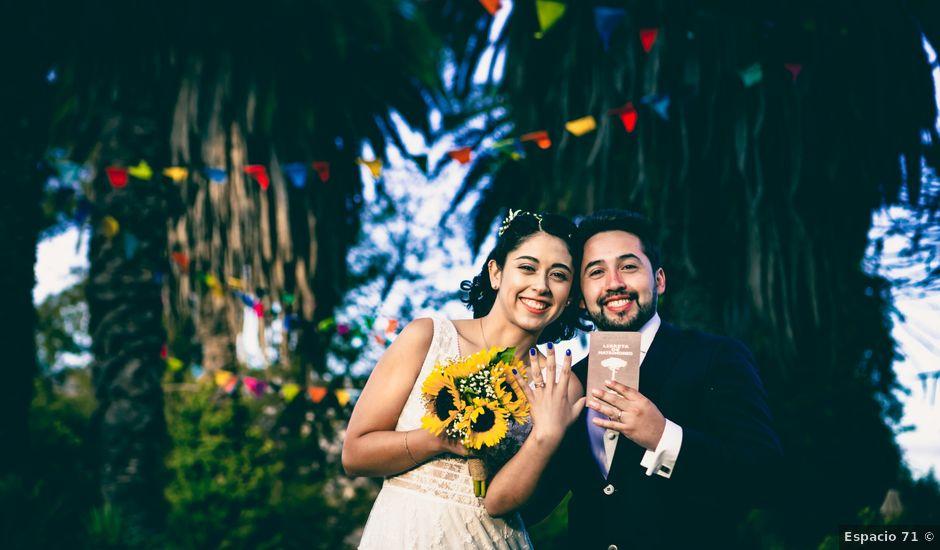 El matrimonio de Lalo y Caro en Santiago, Santiago