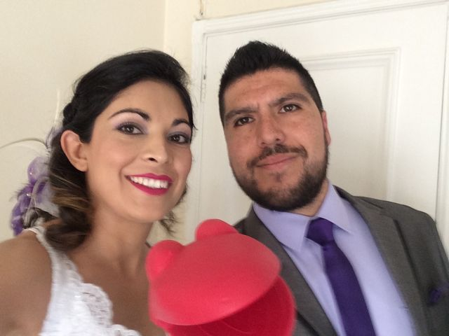El matrimonio de Abigail y Ricardo