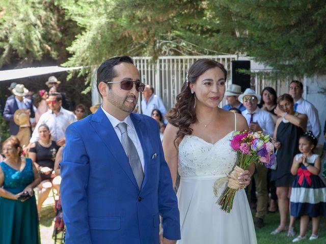 El matrimonio de Jimena y Ernesto