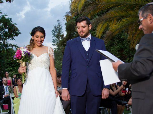 El matrimonio de Constanza y David
