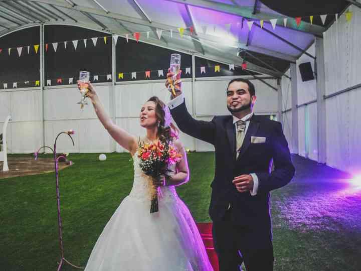 El matrimonio de Melanie y Boris