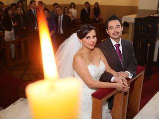 El matrimonio de María Fernanda y Cristian