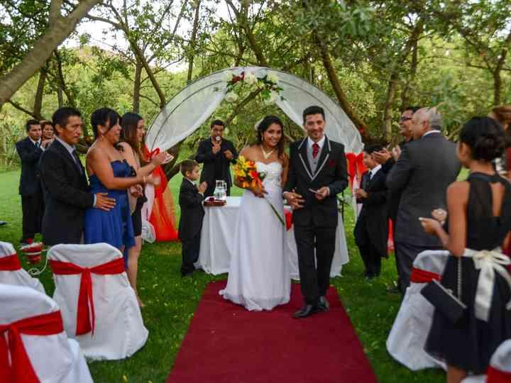 El matrimonio de Paola y Alan
