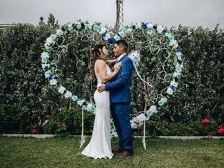El matrimonio de Luis y Daniela