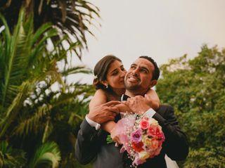 El matrimonio de Eliana y Patrice