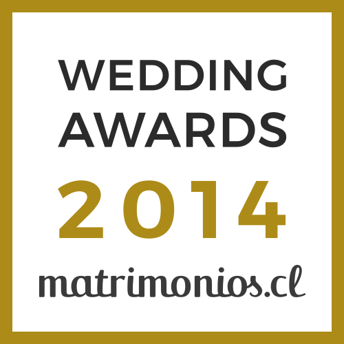 Nuestro Evento, ganador Wedding Awards 2014 matrimonios.cl