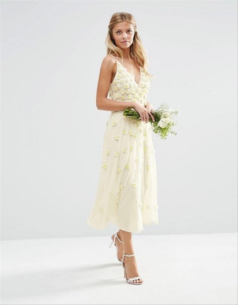 Vestidos de novia para boda civil cortos