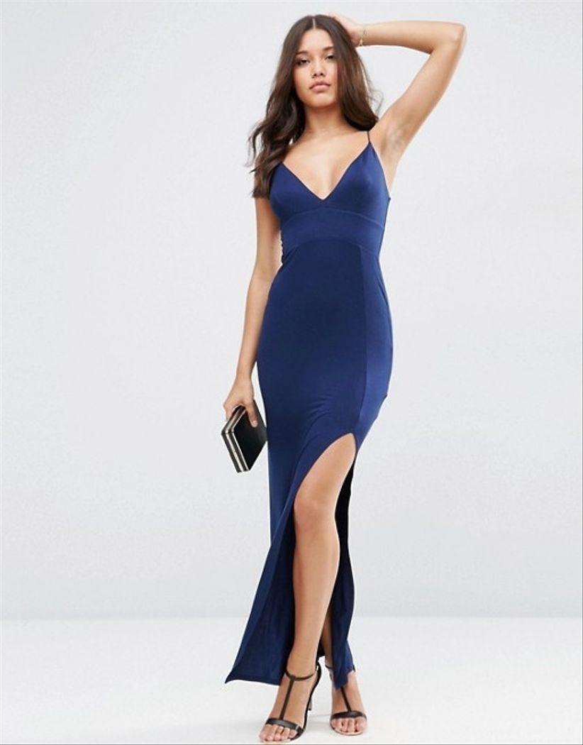 Vestidos de fiesta de color azul