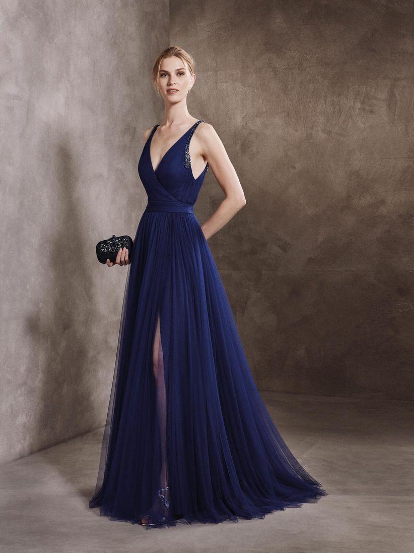 Imagen de vestido azul noche
