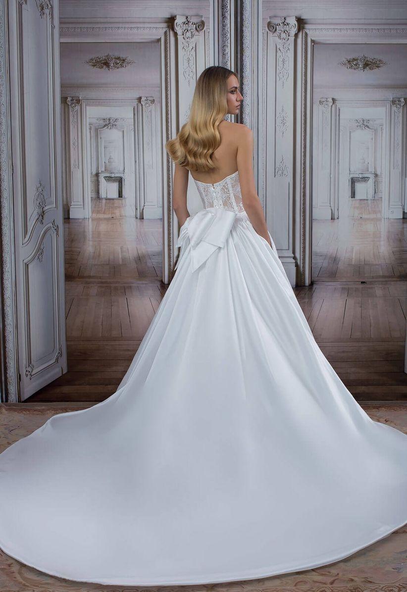 50 vestidos de novia con colas increíbles