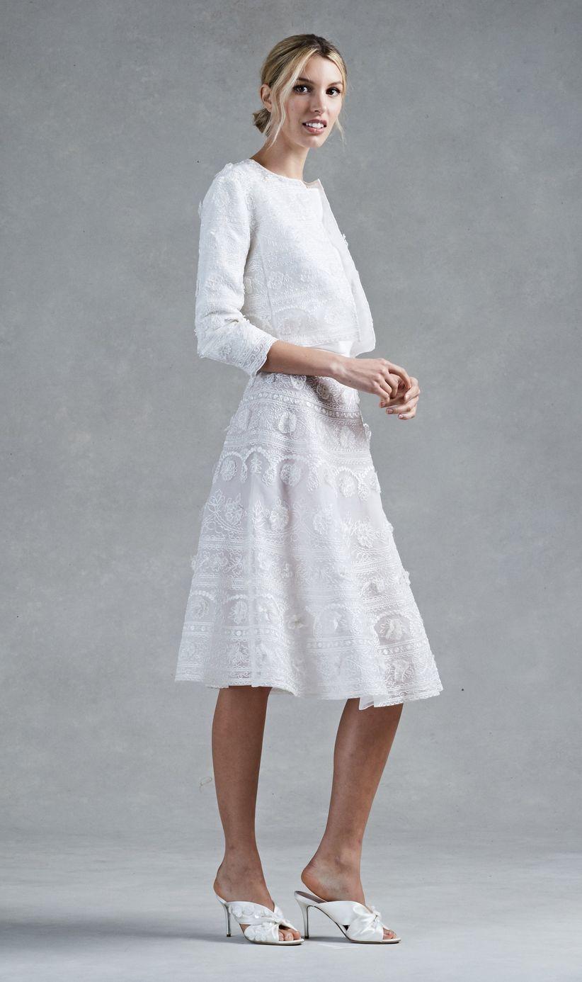 Vestidos de novia formales cortos