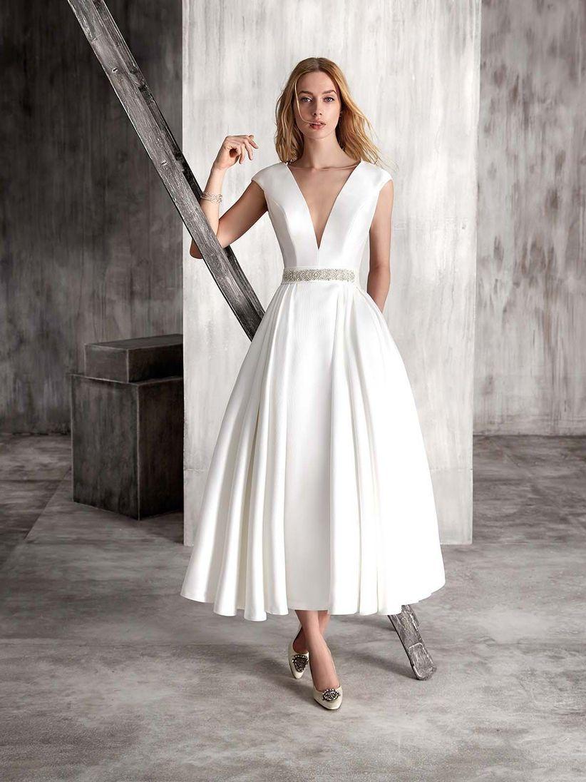 7a5065898 60 vestidos de novia para el civil  elegancia con mucho estilo