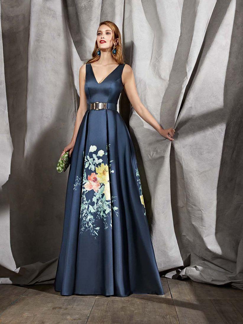 Se usa vestido largo para matrimonio de dia