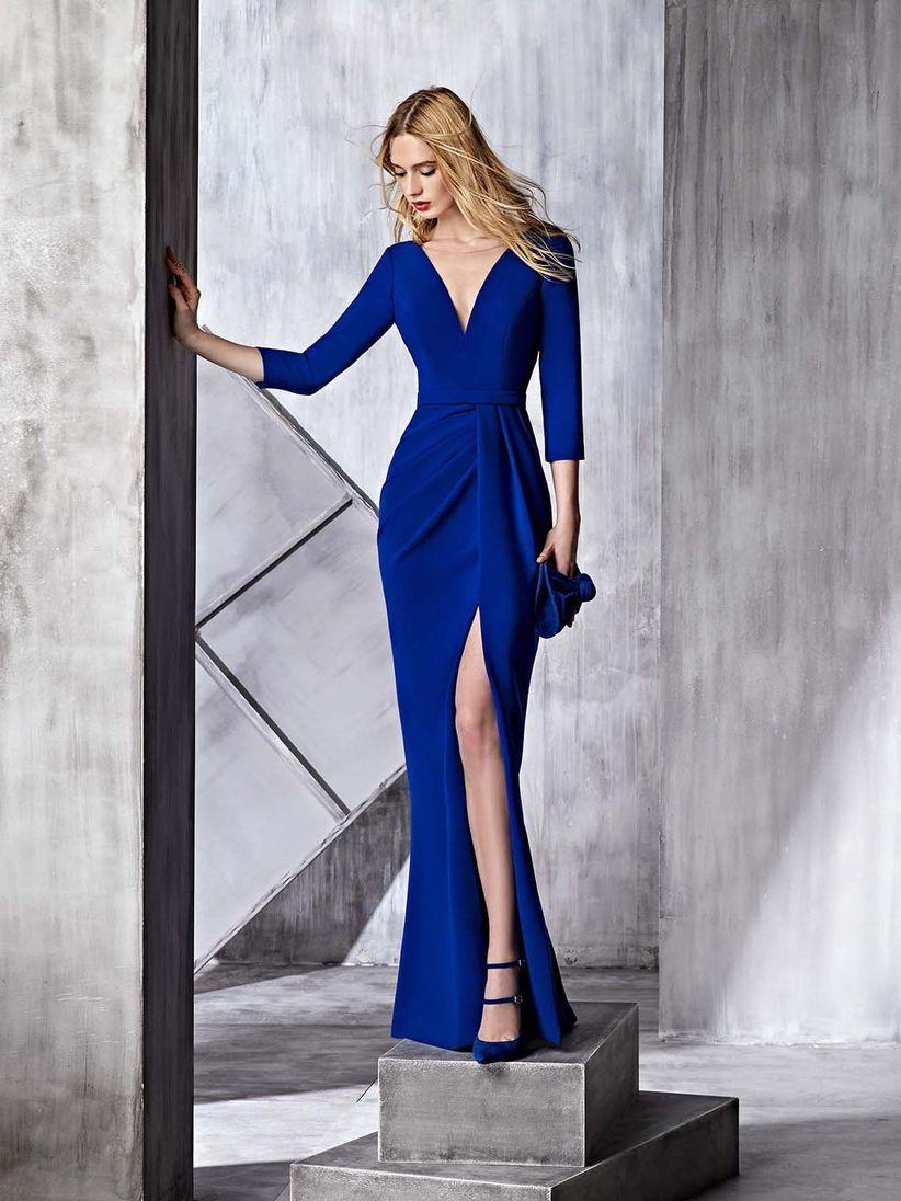 df0d27263 45 vestidos de fiesta azules para toda ocasión