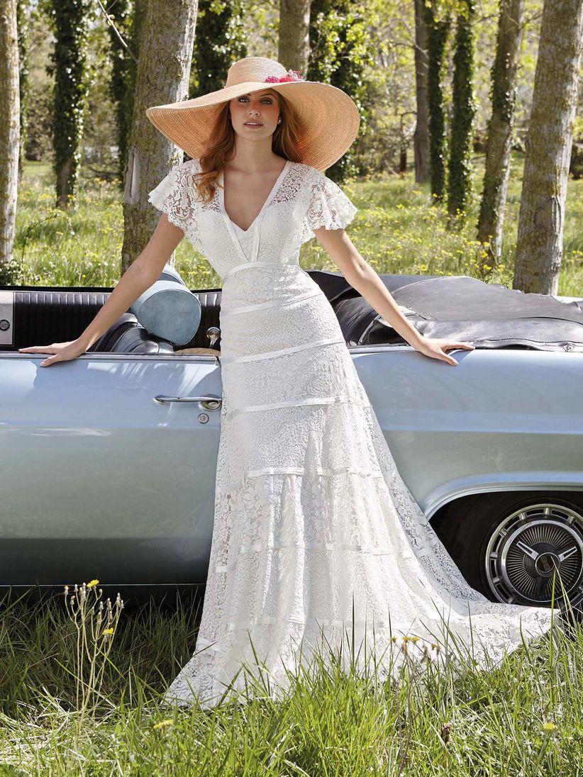 Vestidos de novia hippies boho