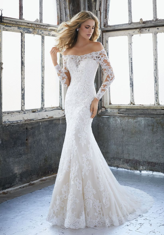 Vestidos de encaje para novia