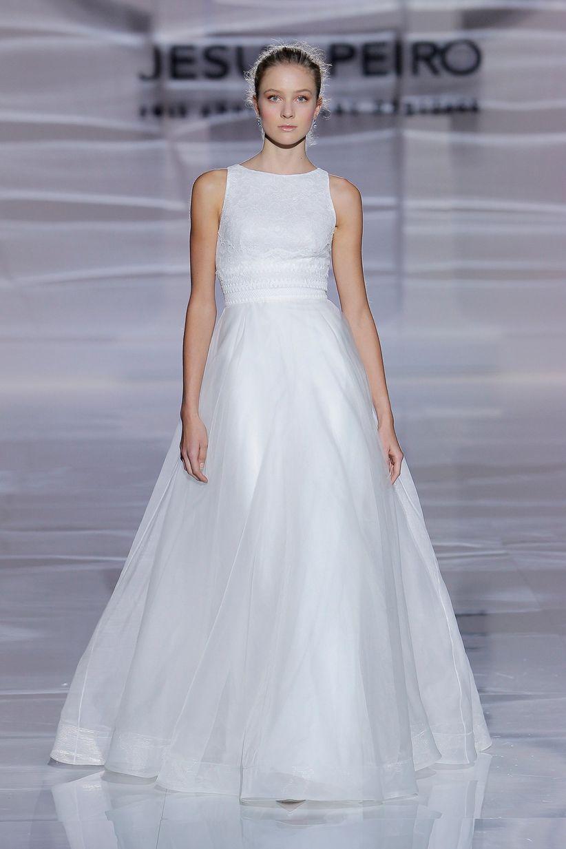 Jesus peiro vestidos novia cortos
