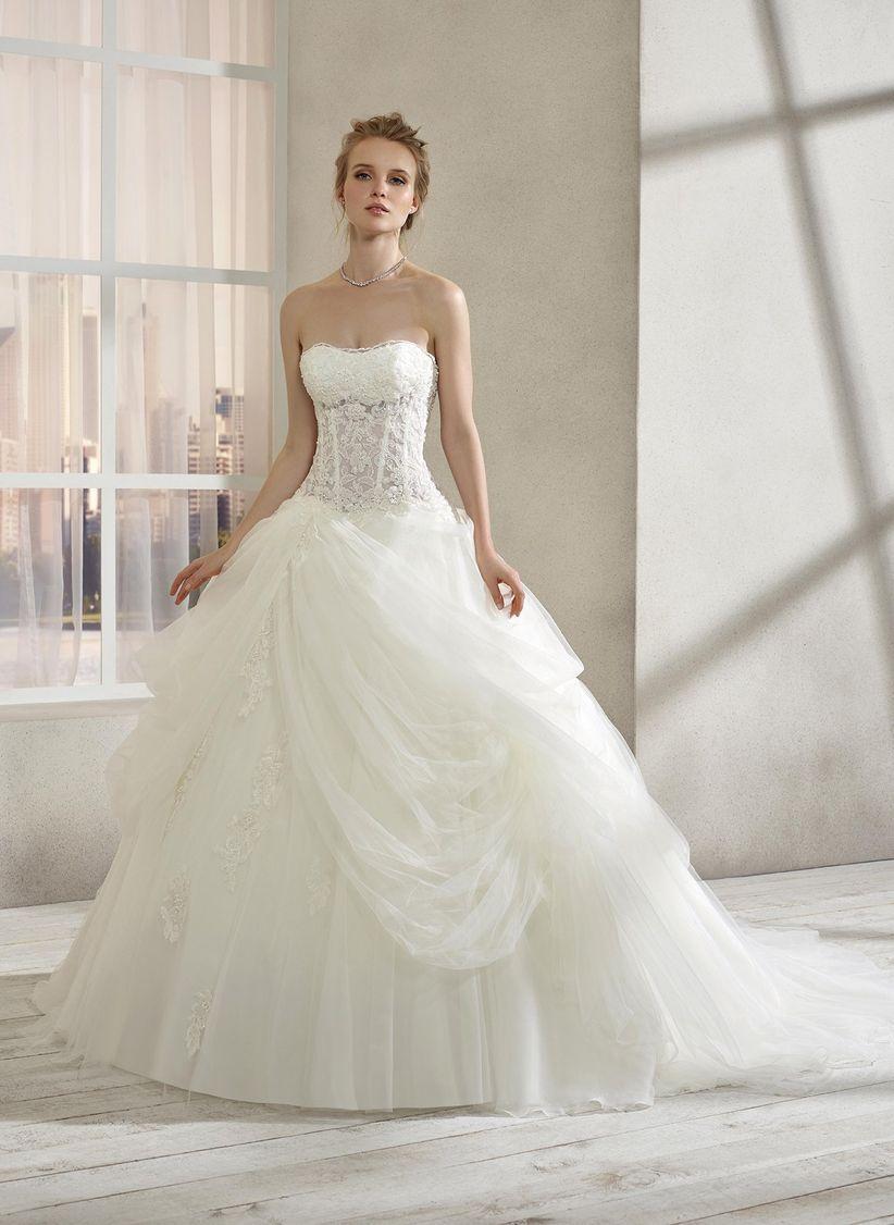 Los mejores vestidos de novia corte princesa