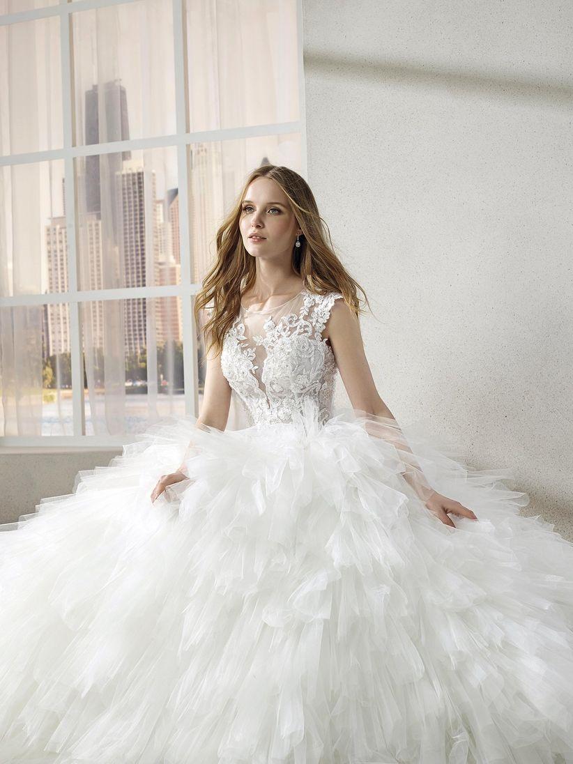 Imagenes de vestidos de novia estilo princesa